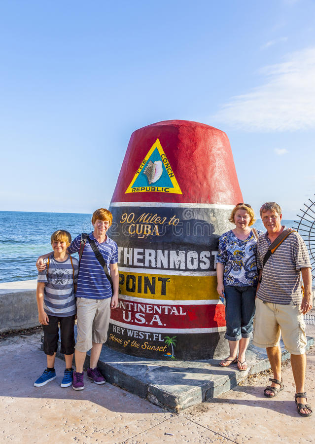 Free Southernmost Point Marker, Key West, USA Stock Photos - 51980483