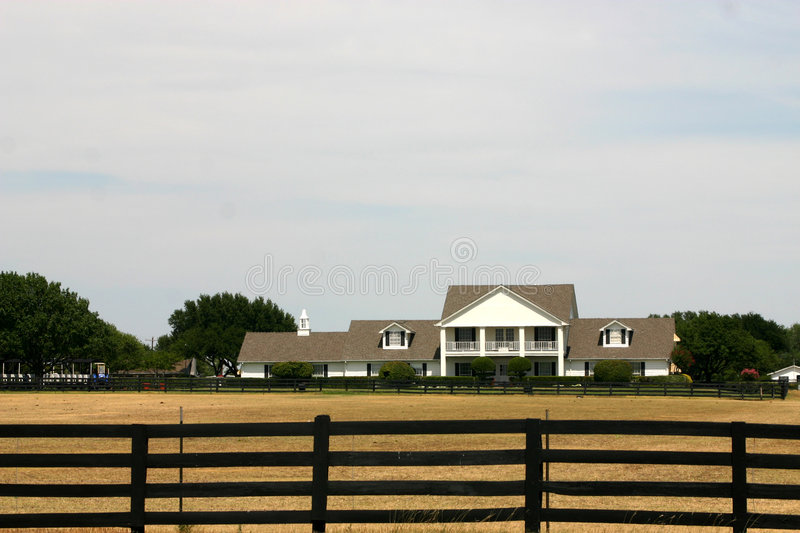 Southfork Ranch near Dallas royalty free stock image