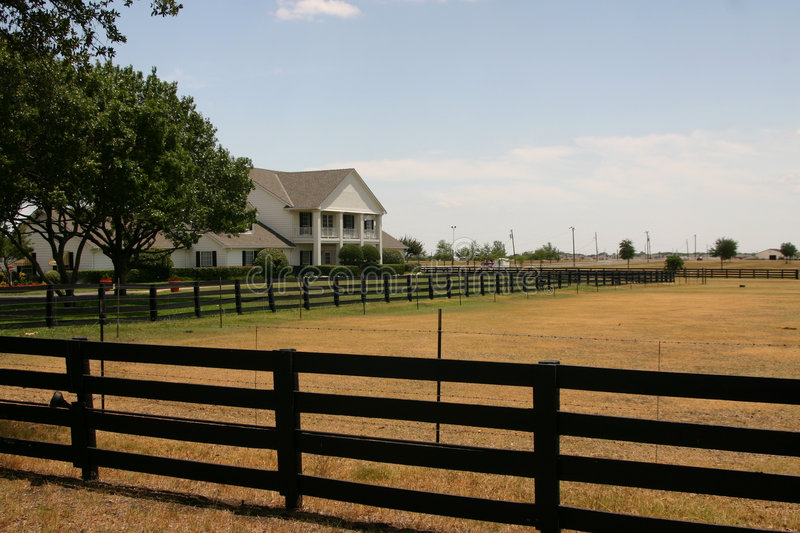 Southfork Ranch near Dallas stock images