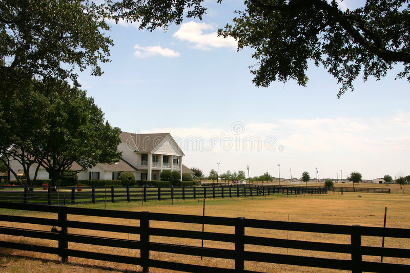 Southfork Ranch near Dallas royalty free stock images