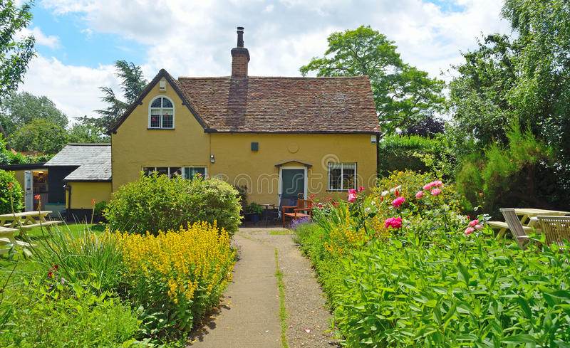 Southill tearoom and gardens in the Bedfordshire countryside. royalty free stock photos
