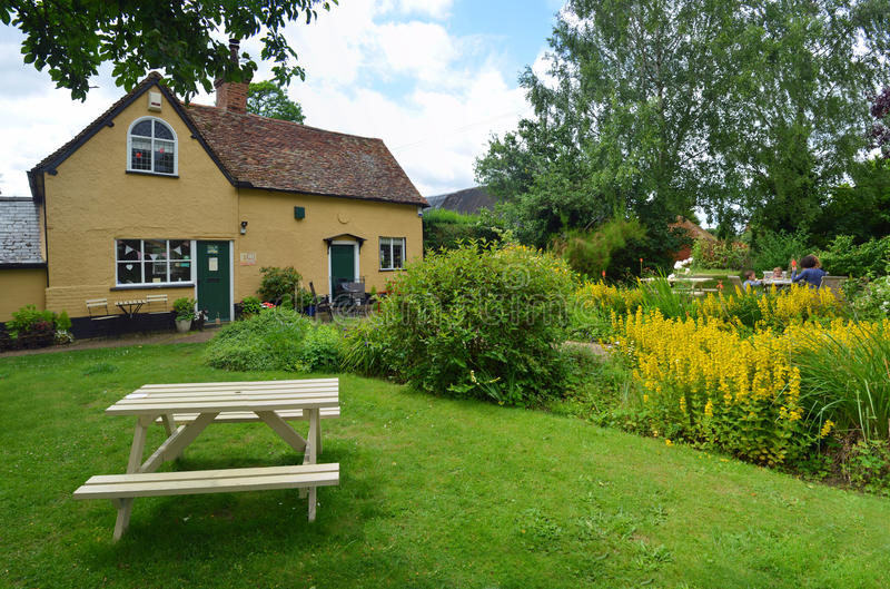 Southill tearoom and gardens in the Bedfordshire countryside. stock images