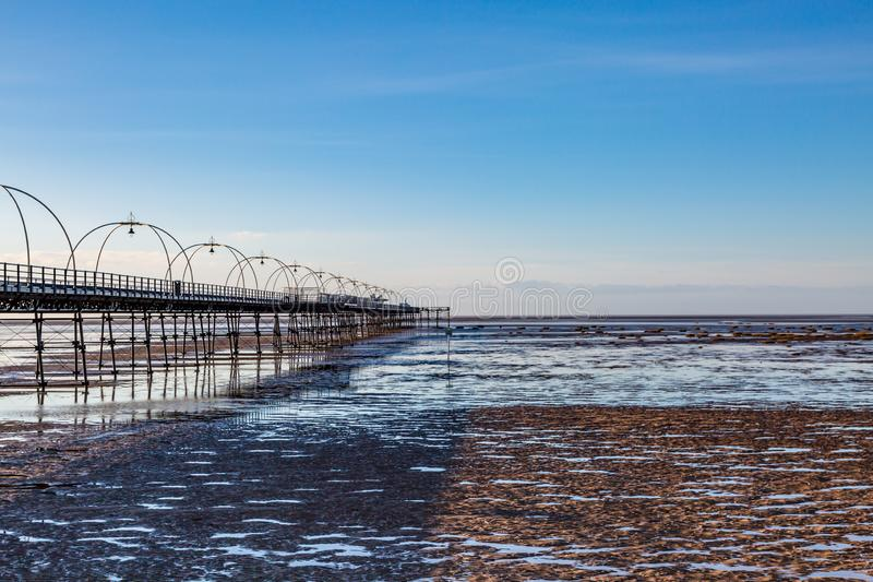 Southport Beach stock photography
