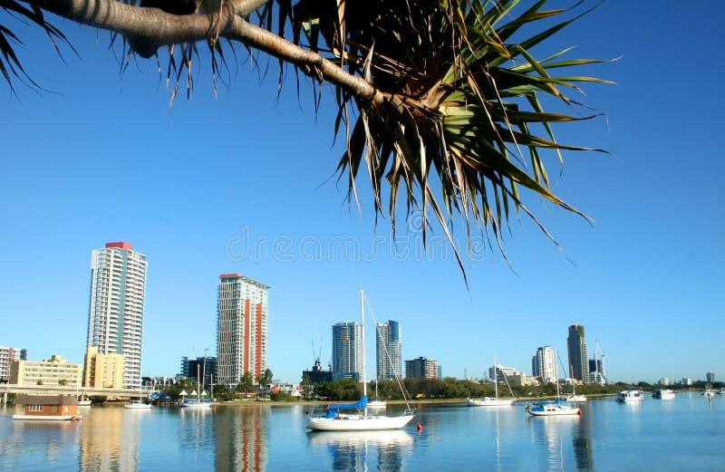 Southport Gold Coast royalty free stock photo