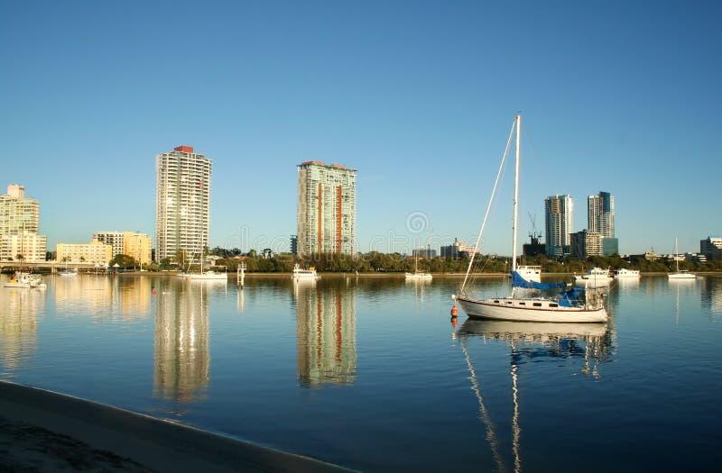 Southport Gold Coast royalty free stock photography
