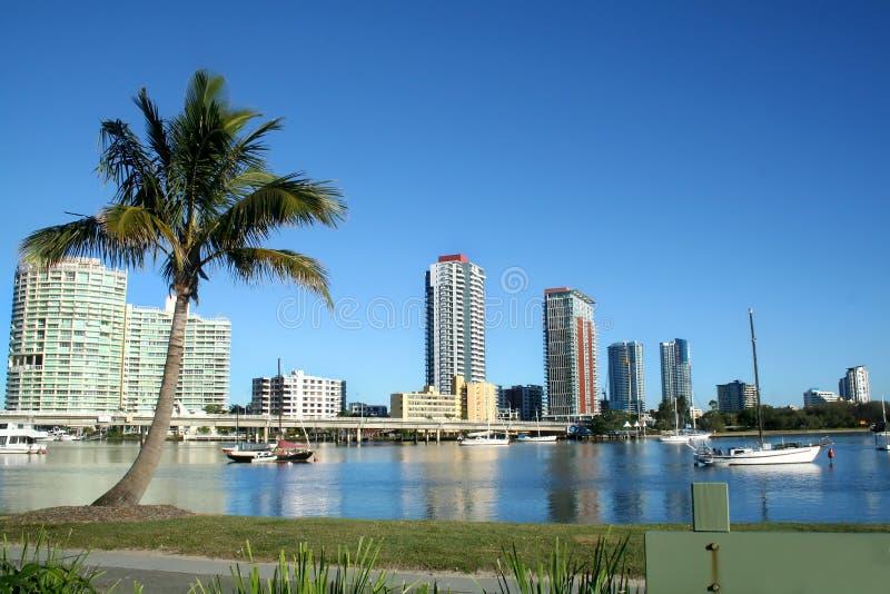 Southport Gold Coast royalty free stock image