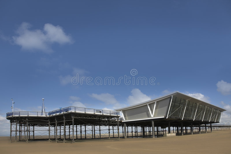 Download Southport Pier stock image. Image of england, resort, seaside - 5445547