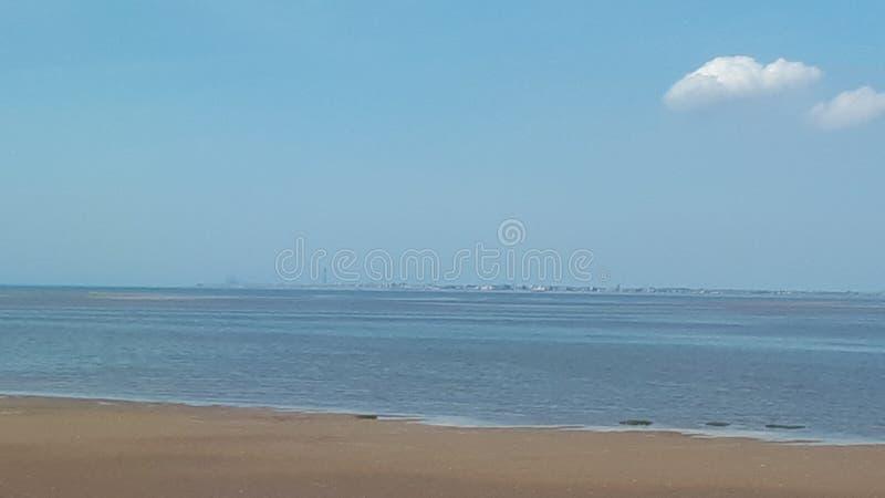 Southport plaża w Anglia zdjęcia stock