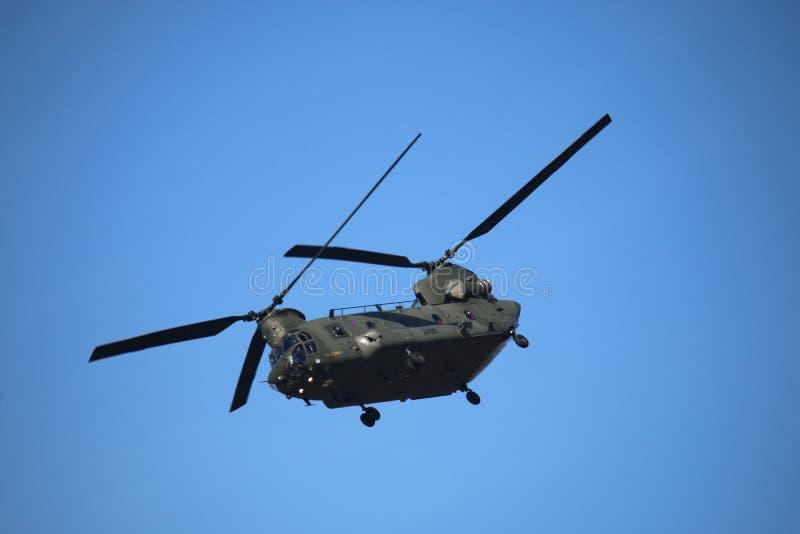 Southport pokaz lotniczy 2015 Chinook helikopter obrazy stock