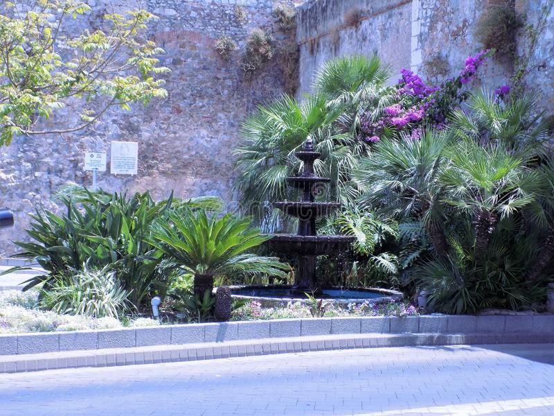 SOUTHPORT-poort-Gibraltar royalty-vrije stock afbeeldingen