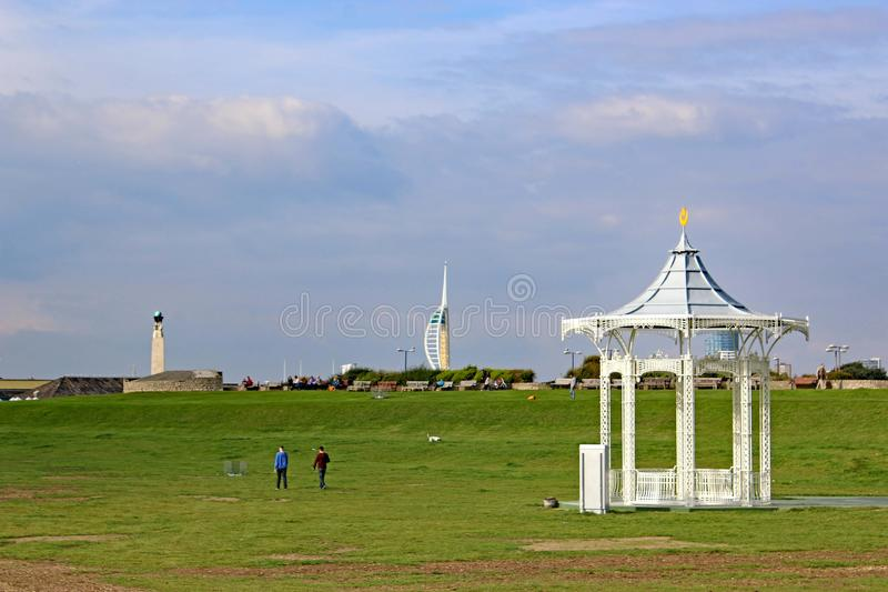 Southsea wiktoriański Bandstand obrazy royalty free