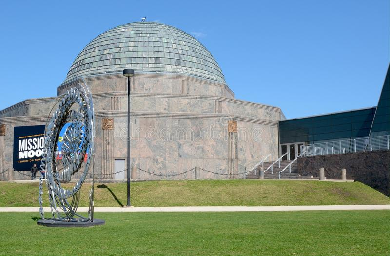 Southside Adler planetarium zdjęcia royalty free
