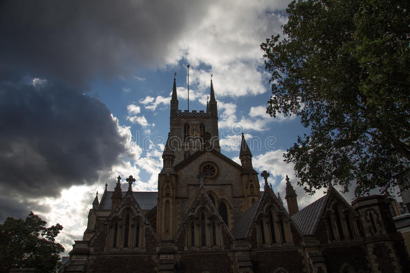 Southwark Cathedral, London royalty free stock images