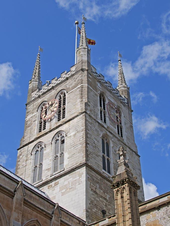 Southwark Kathedrale stockfoto