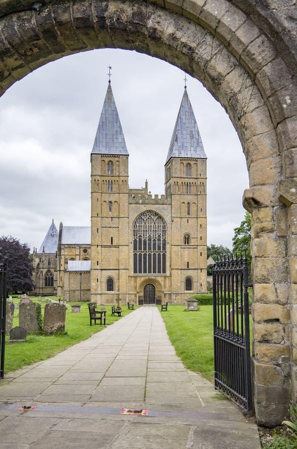 Southwell Minster, Nottinghamshire fotografia stock