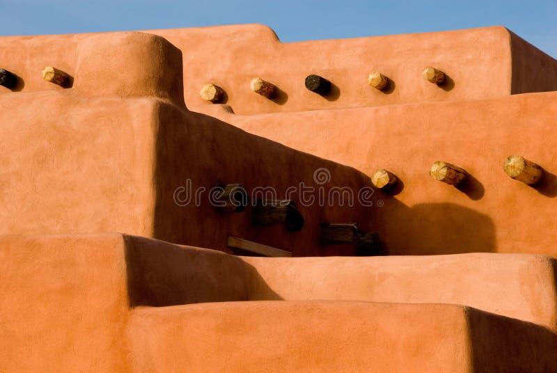 Southwest adobe architecture royalty free stock images