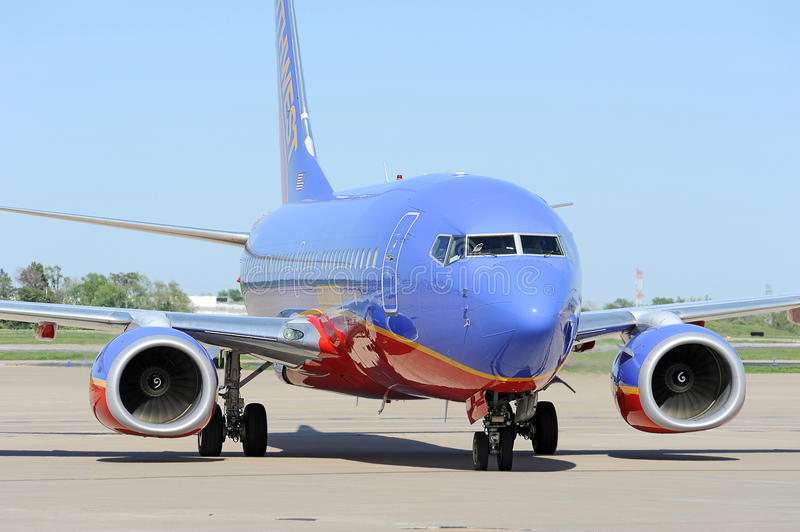 A Southwest Airlines At The Airport Editorial Stock Image