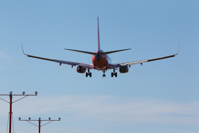 Southwest Airlines Boeing 737-7BX royalty free stock images