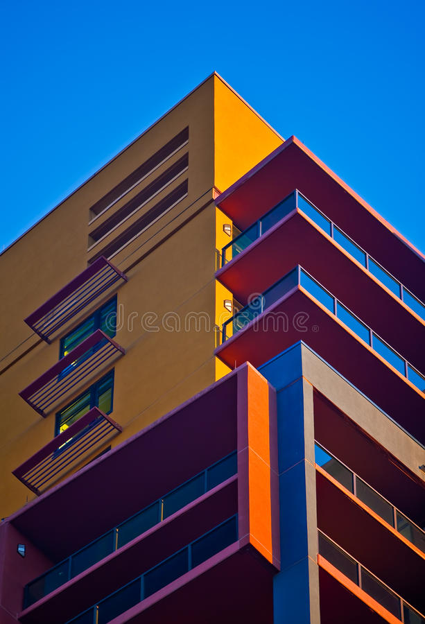 Southwest architecture. Against blue sky stock photos