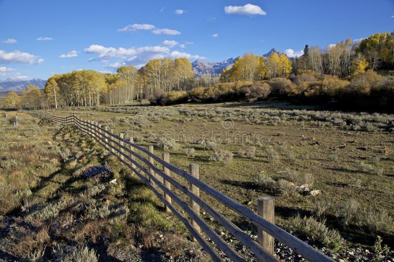 Southwest Colorado In Fall Stock Photos