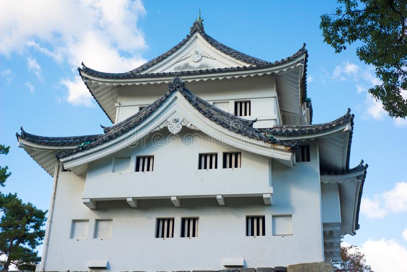 Southwest corner tower of Nagoya castle. Nagoya stock photos