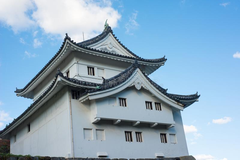 Southwest corner tower of Nagoya castle. Nagoya royalty free stock photos