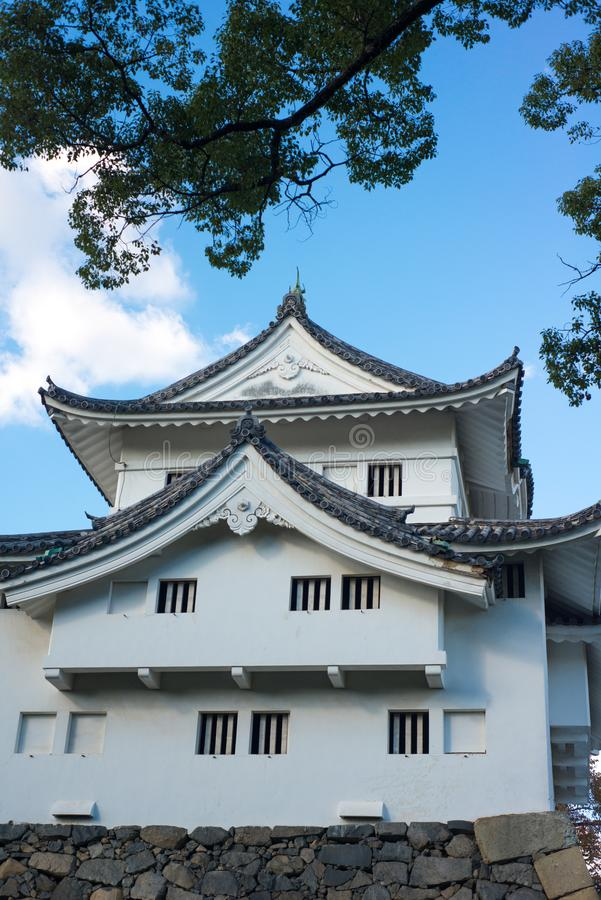 Southwest corner tower of Nagoya castle. Nagoya stock photography