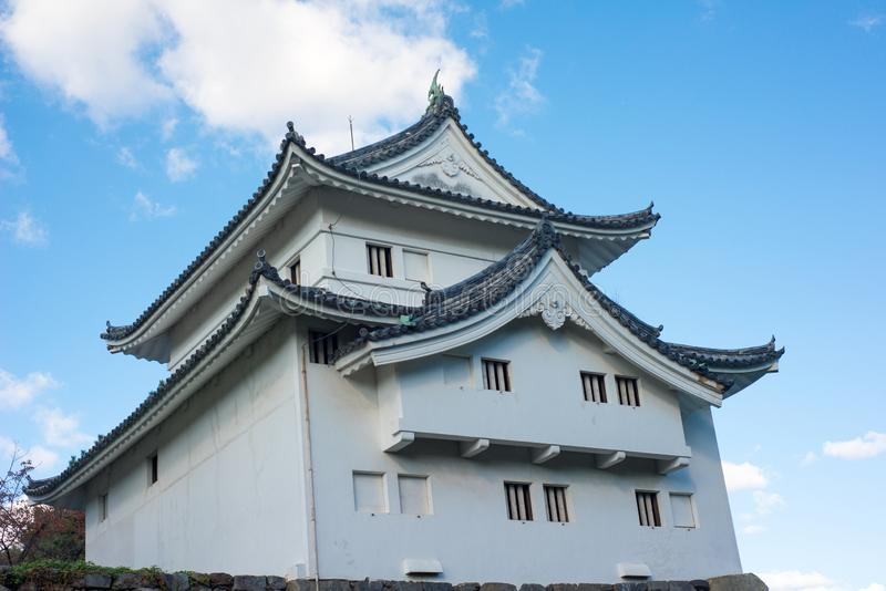 Southwest corner tower of Nagoya castle. Nagoya royalty free stock images