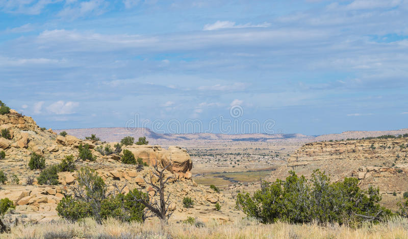 Southwest Landscape. In New Mexico royalty free stock images
