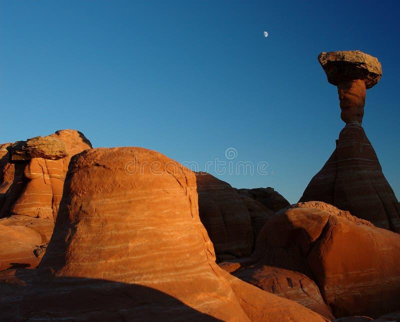 Southwest sunset royalty free stock photography