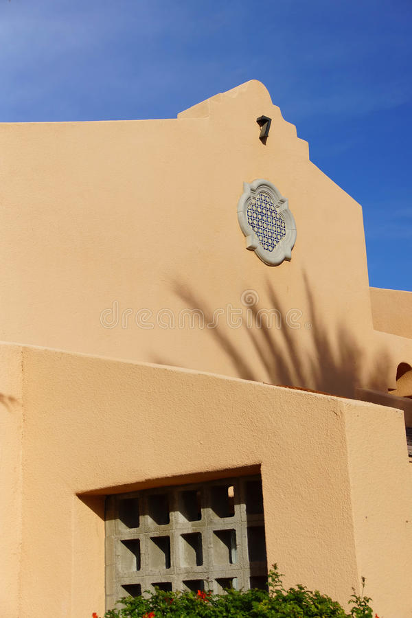 Southwestern architecture royalty free stock images