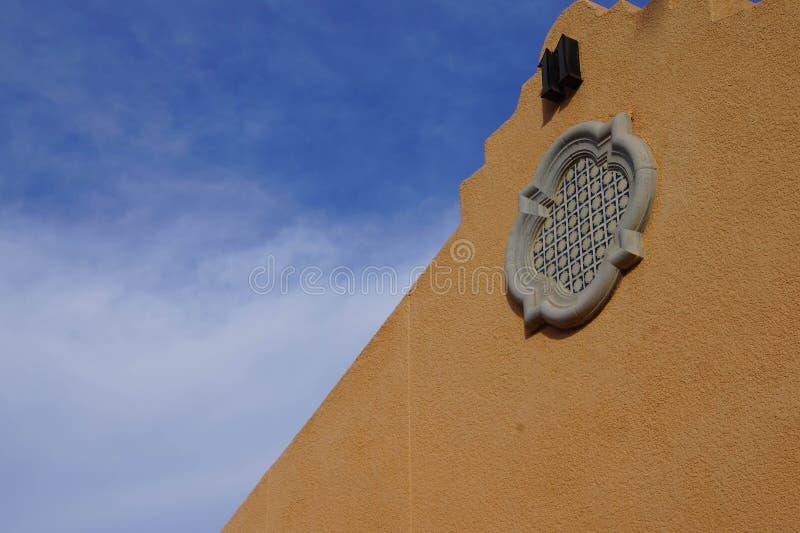 Southwestern architecture royalty free stock photography