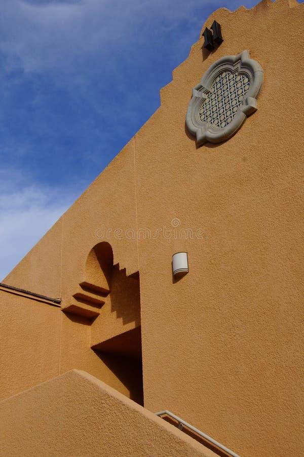 southwestern arkitektur royaltyfria bilder