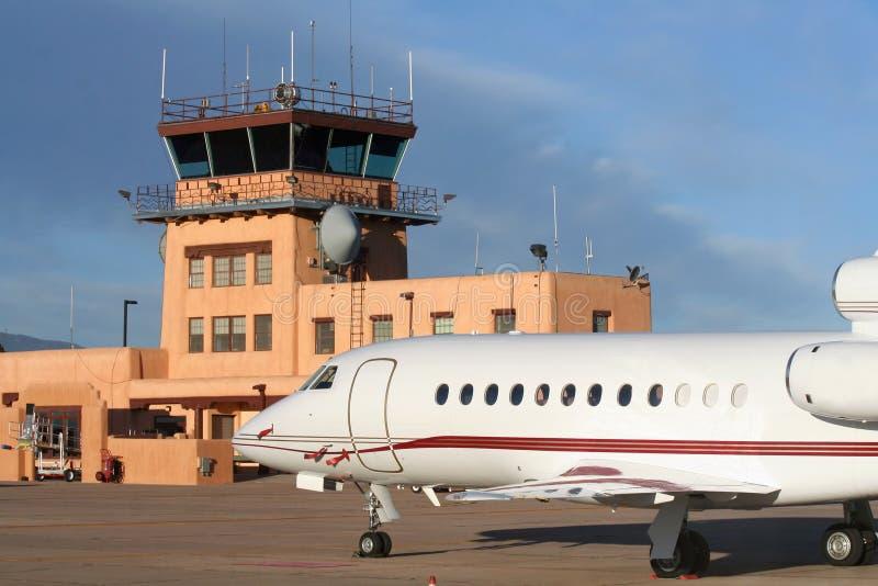 southwestern flygplats royaltyfri fotografi