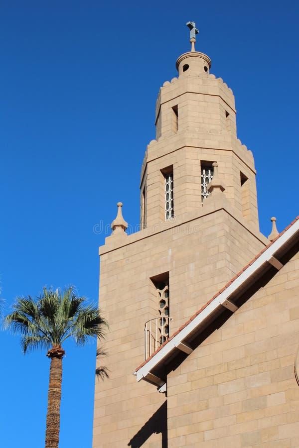 Southwestern kyrka royaltyfri bild
