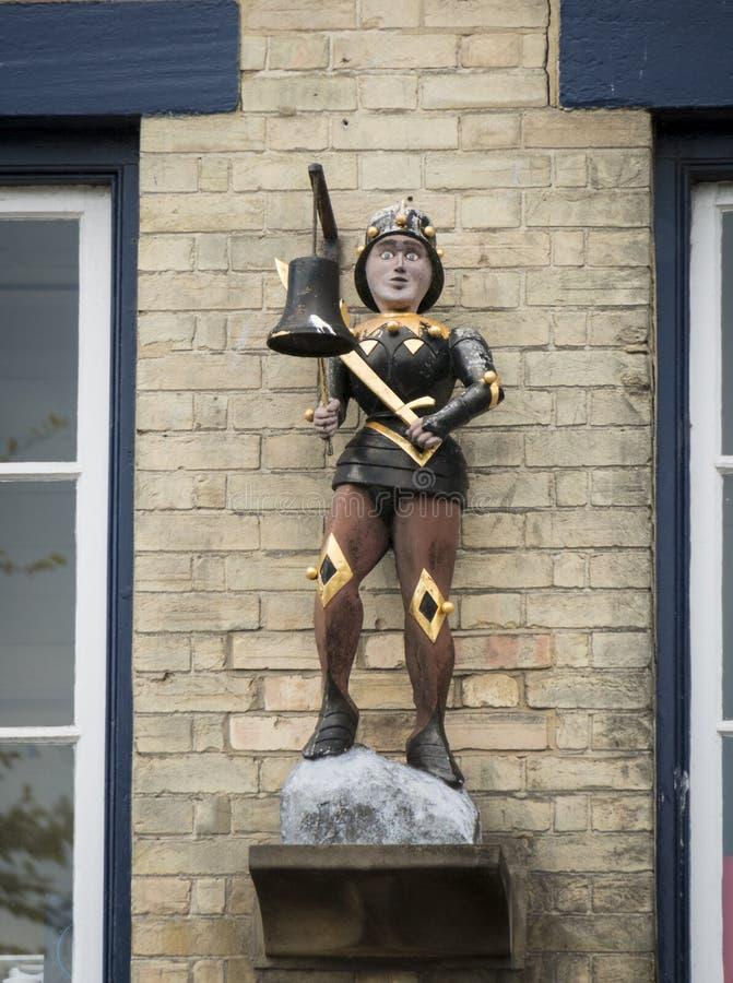 Southwold Jack Statue imagen de archivo