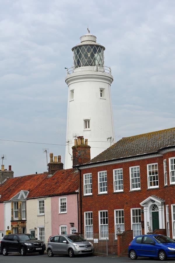 Southwold, Suffolk, UK - Inland Lighthouse stock photo