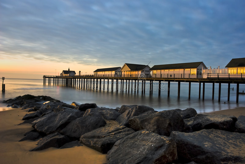 Southwold Pier royalty free stock photos
