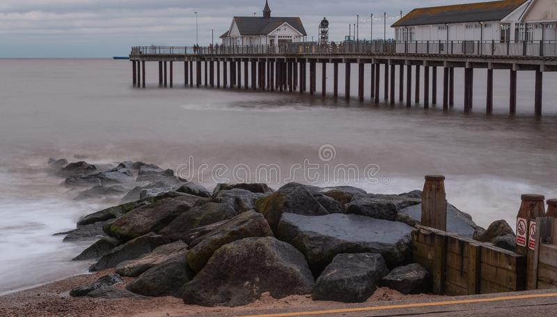 Southwold Pier Suffolk England royalty free stock photography