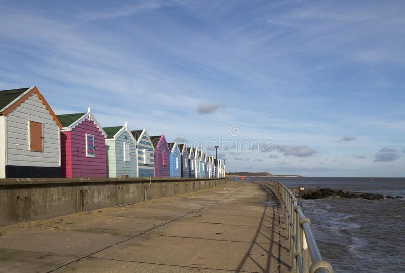 Southwold Seafront, Suffolk, England stock images