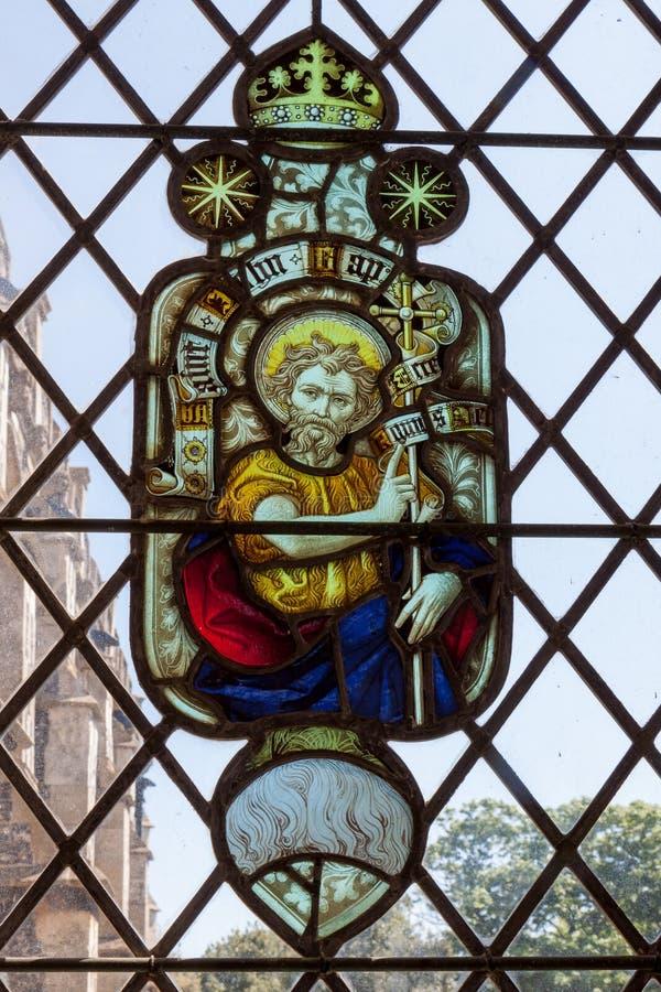SOUTHWOLD, SUFFOLK/UK - 2 JUNI: Kerk van St Edmund in Southwol stock foto