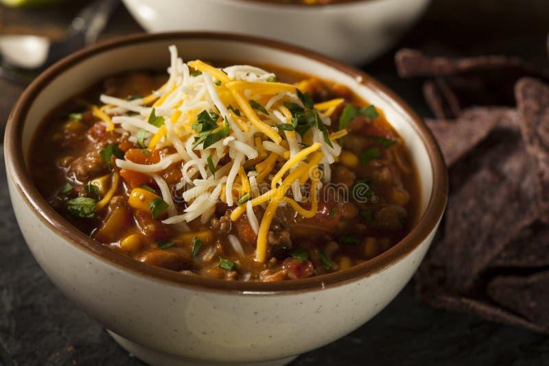 Soutwestern Santa Fe Soup imagen de archivo libre de regalías