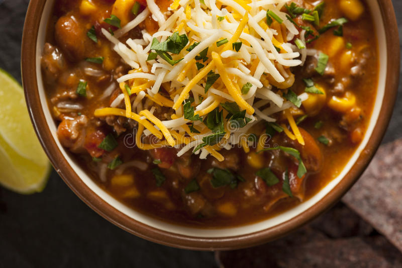 Soutwestern Santa Fe Soup imagen de archivo