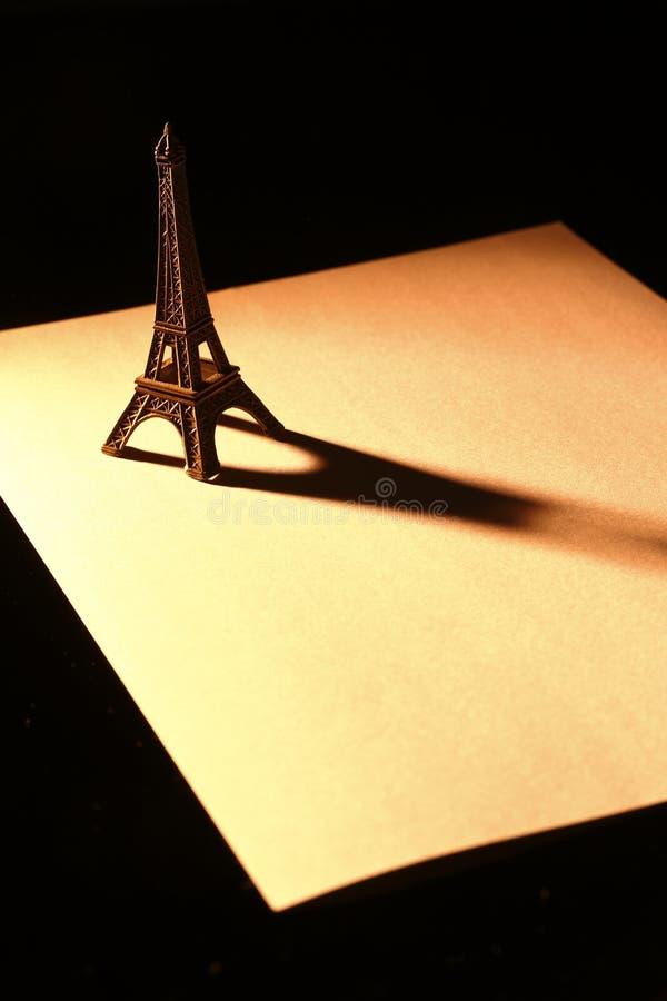 Download Souvenier Eiffel Tower On Paper Stock Photo - Image: 28629908