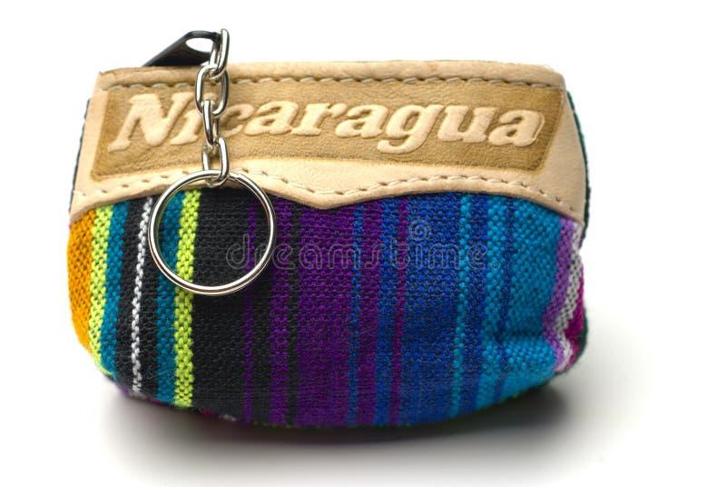Souvenir change purse nicaragua stock images