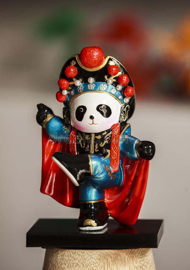 SOUVENIR IN CHENGDU. PANDA IS A VERY FAMOUS SOUVENIR WHEN YOU VISIT CHENGDU, CHINA stock photo