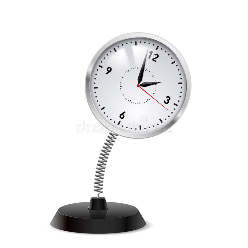 Souvenir d'horloge illustration libre de droits