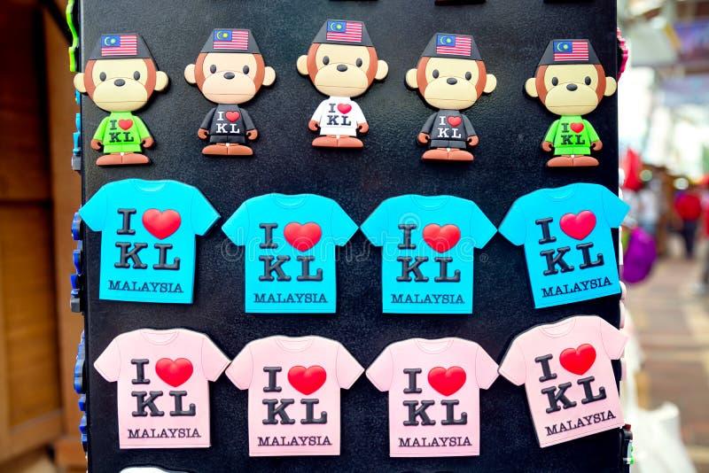 Souvenir från Kuala Lumpur - Malaysia royaltyfri fotografi
