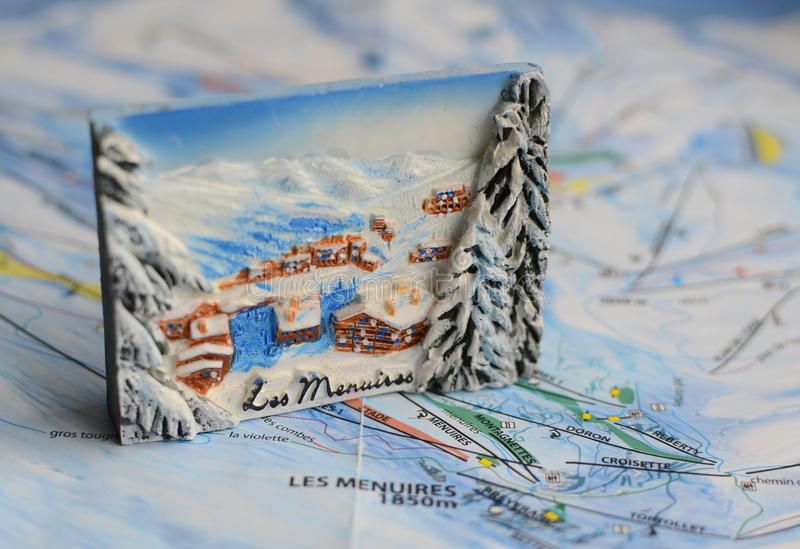 Souvenir from France stock photography