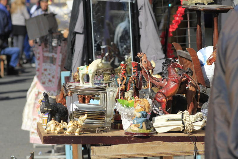 Souvenir i Jaffa den gamla staden royaltyfria foton
